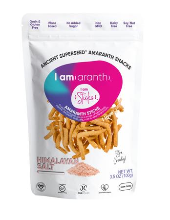 I amaranth 3.5 oz I am Sticks Himalayan Salt