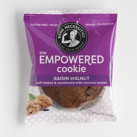 Barr Necessities The Empowered Cookie - Raisin Walnut