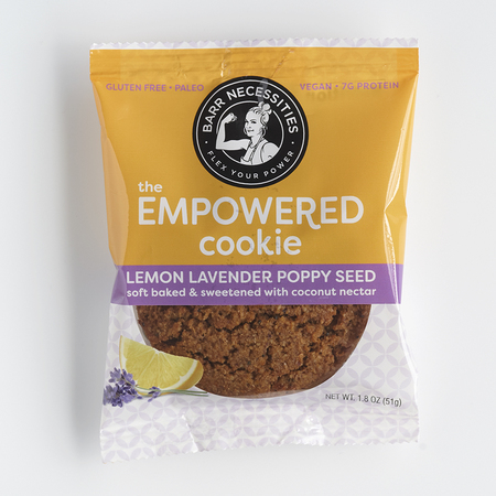 Barr Necessities The Empowered Cookie - Lavender Lemon Poppy Seed