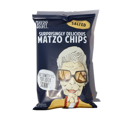 The Matzo Project Large Salted Matzo Chips
